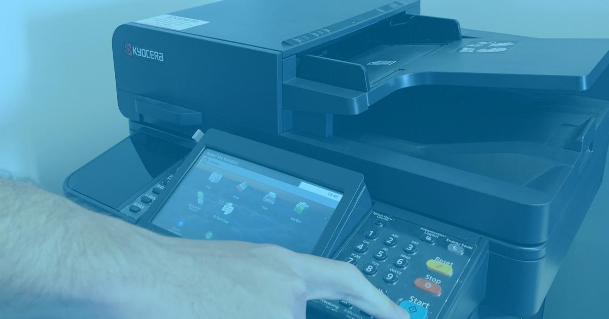 instant asset write off kyocera-printer-blue