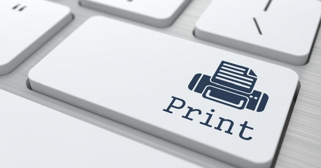 print sustainability Managed Print Services