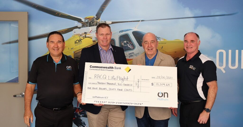 onPlatinum Charity Golf Day LifeFlight